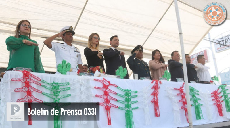Encabeza alcalde Kiko Munro desfile alusivo al 109 aniversario de la Revolución Mexicana