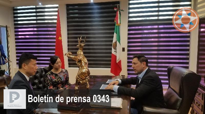 Se reúne alcalde Kiko Munro con Cónsul General de la República Popular de China en Tijuana