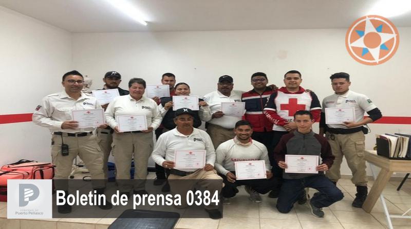 Se capacita Unidad Auxiliar Turística para temporada 2020